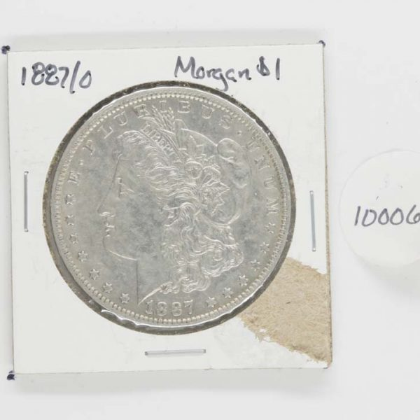 1887/o Morgan Dollar
