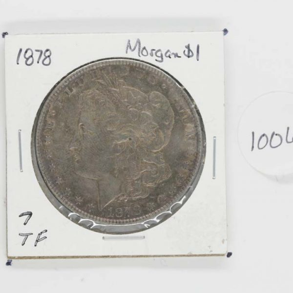 1878 Morgan Dollar 7TF