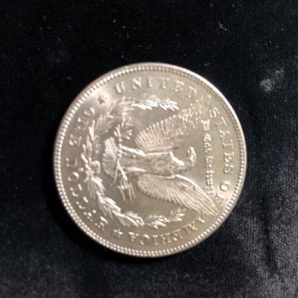 1878 S Morgan Dollar in Uncirculated