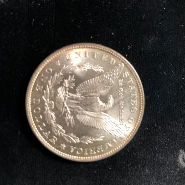 1879 Morgan Dollar in Uncirculated
