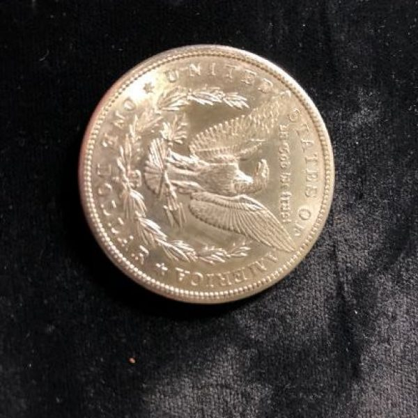 1881 S Morgan Dollar in Uncirculated