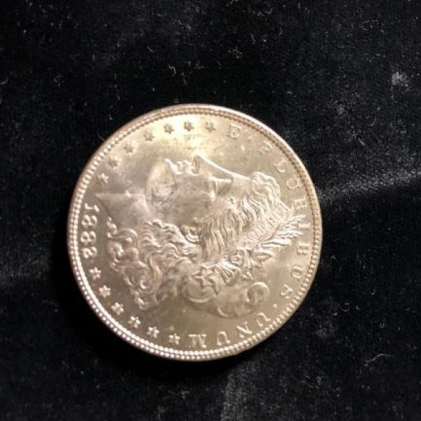 1882 P Morgan Dollar in Uncirculated