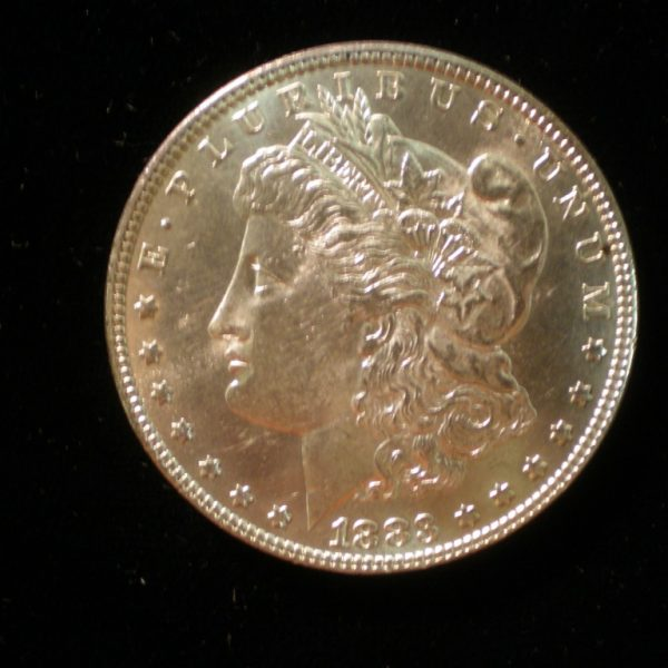 1883 Morgan Dollar in Uncirculated