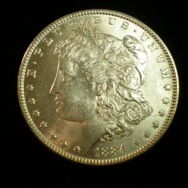 1884 Morgan Dollar Uncirculated