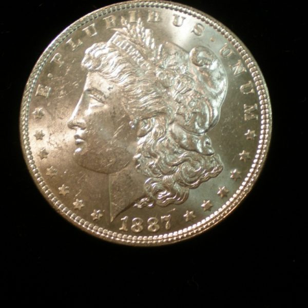1887 Morgan Uncirculated