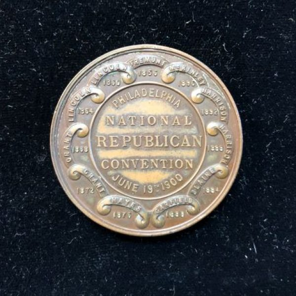 1900 Republican National Convention  44mm
