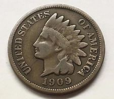 1909 Indian Head Penny G+