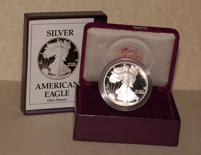 1990 Proof Silver Eagle