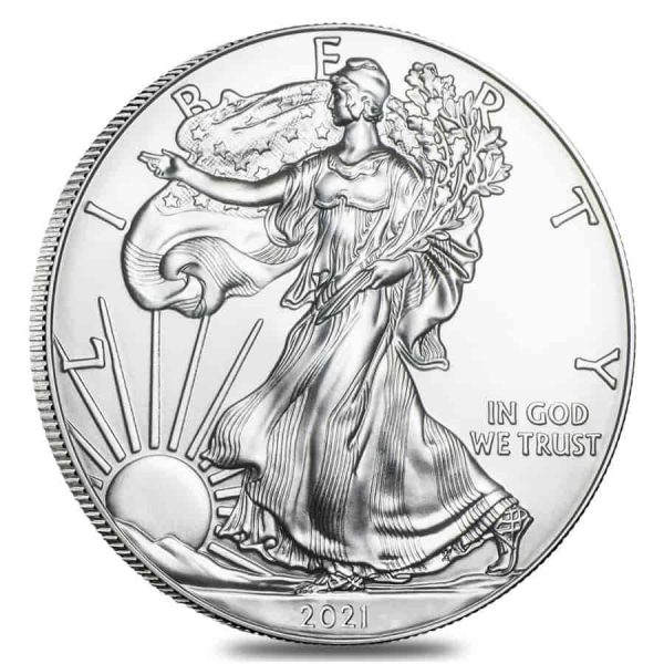 2021 Uncirculated Silver Eagle