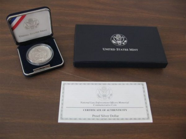 1997 National Law Enforcement Officers Memorial Dollar (Proof)