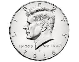 2016 Kennedy Half Dollar D mint mark