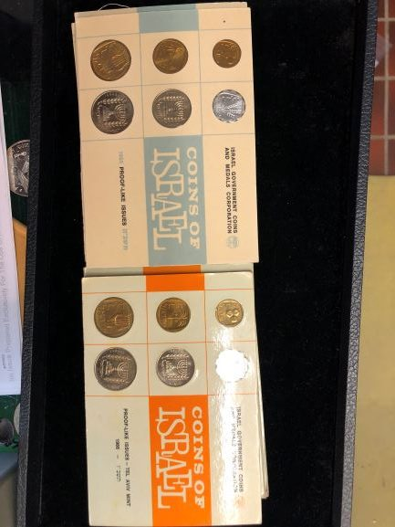 Israel mint set collection!