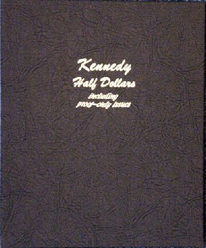 Dansco Kennedy Half Dollars including proof only issues